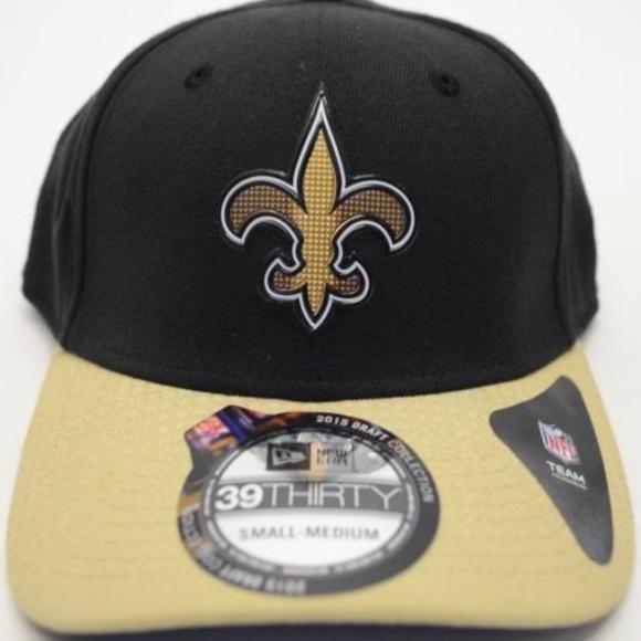on sale 307c3 cd8ee New Era New Orleans Saints 39Thirty Sz S M Cap